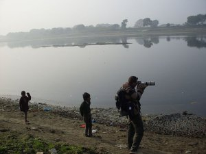 Fotograferen langs de Ganges in India (2011)